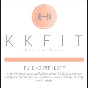 KKFIT BULKING PROGRAM PDF